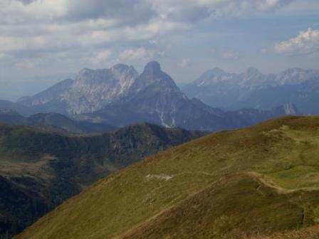 Foto: Wolfgang Dröthandl / Wander Tour / Von Wald am Schoberpaß auf den Leobner / Admonter Kalbling, Sparafeld, Admonter Reichenstein, Gr. Pyhrgas, Scheiblingstein, Natterriegel / 12.09.2016 15:39:55