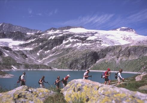 Foto: Tourismusverband Uttendorf/Weißsee / Wander Tour / Gletscherweg Stubacher Sonnblick / Gletscherlehrweg Sonnblickkees / 19.04.2012 10:35:29