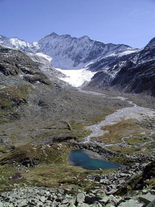 Foto: Tourismusverband Uttendorf/Weißsee / Wandertour / Gletscherweg Ödenwinkelkees / Ödenwinkel / 19.04.2012 10:31:49