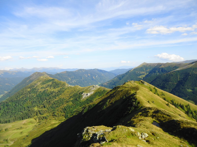 Foto: Günter Siegl / Wander Tour / Von der Gamperhütte auf den Kreuzkogel / Rückblick  / 11.09.2015 21:08:02