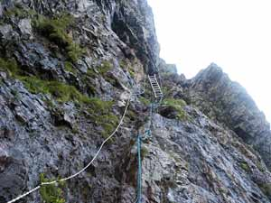 Foto: Datzi / Wander Tour / Zinkwand und Rotmandlspitze / Der Abstieg vom Stollen ins Knappenkar / 09.08.2011 07:01:02