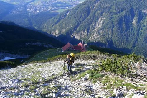 Foto: Thomas Paschinger / Wandertour / Kleiner und Großer Bettelwurf / oberhalb der Bettelwurfhütte (2077m) / 25.07.2009 13:55:19