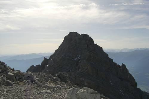 Foto: Thomas Paschinger / Wander Tour / Kleiner und Großer Bettelwurf / Blick zum Großen Bettelwurf (2726m) / 25.07.2009 13:56:15