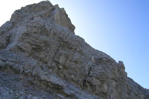 Foto: Thomas Paschinger / Wandertour / Kleiner und Großer Bettelwurf / Übergang vom Kleinen zum Großen Bettelwurf (Klettersteig) / 25.07.2009 13:58:12
