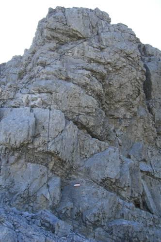 Foto: Thomas Paschinger / Wander Tour / Kleiner und Großer Bettelwurf / Übergang vom Kleinen Bettelwurf zum Großen (Klettersteig) / 25.07.2009 13:58:39