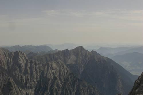 Foto: Thomas Paschinger / Wander Tour / Kleiner und Großer Bettelwurf / Richtung Unterland zum Wilden Kaiser / 25.07.2009 13:59:36