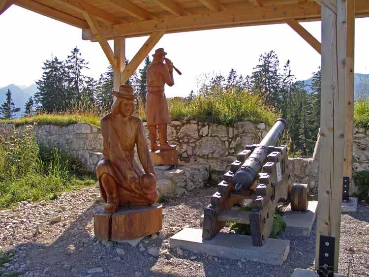 Foto: tomy37 / Wander Tour / Burgenrunde hoch über dem Talkessel von Reutte / 19.08.2009 19:00:17