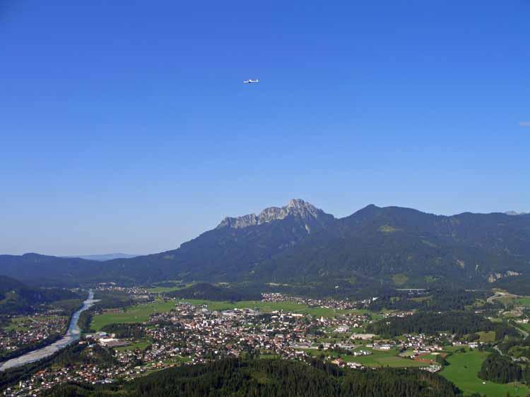 Foto: tomy37 / Wander Tour / Burgenrunde hoch über dem Talkessel von Reutte / Reutte  / 19.08.2009 18:57:44