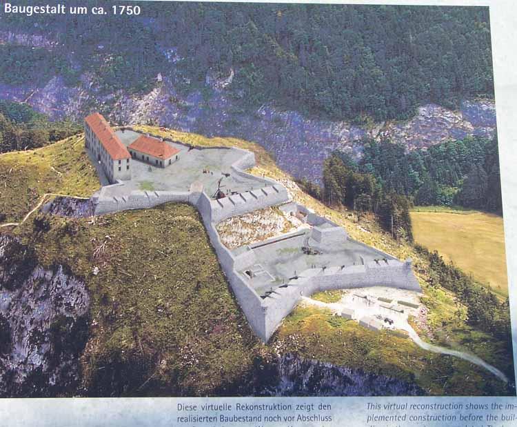Foto: tomy37 / Wander Tour / Burgenrunde hoch über dem Talkessel von Reutte / Infotafel / 19.08.2009 18:53:31