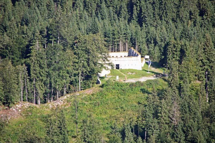 Foto: tomy37 / Wander Tour / Burgenrunde hoch über dem Talkessel von Reutte / Fort Claudia / 19.08.2009 18:51:57