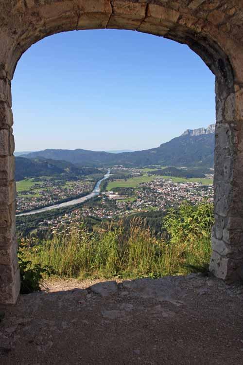 Foto: tomy37 / Wander Tour / Burgenrunde hoch über dem Talkessel von Reutte / Blick auf Reutte / 19.08.2009 18:50:41