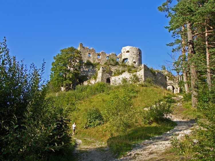 Foto: tomy37 / Wander Tour / Burgenrunde hoch über dem Talkessel von Reutte / Ruine Ehrenberg / 19.08.2009 18:49:18
