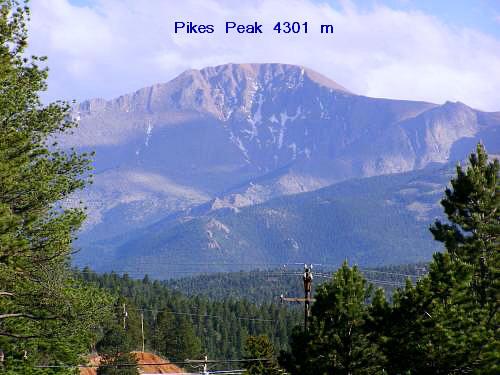 Foto: Andreas Koller / Wandertour / Tourengebiet Pikes Peak (4301 m) / Der Pikes Peak / 16.10.2009 00:33:07