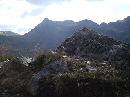 Foto: Wolfgang Dröthandl / Wander Tour / Vom Sadnighaus auf den Mohar / Makernispitze vom Aufstieg zum Göritzer Törl / 29.08.2015 19:04:20