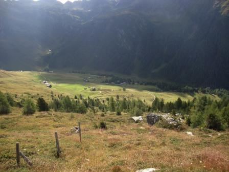 Foto: Wolfgang Dröthandl / Wander Tour / Vom Sadnighaus auf den Mohar / Blick ins hinterste Astner Tal / 29.08.2015 19:03:51