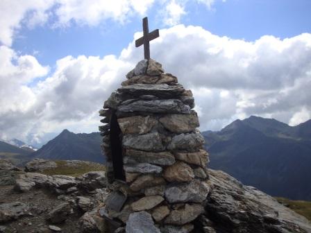 Foto: Wolfgang Dröthandl / Wander Tour / Vom Sadnighaus auf den Mohar / Mohar - Gipfel gegen Makernispitze und Sadnig / 29.08.2015 18:56:40