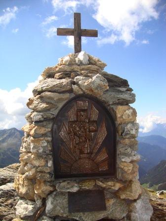 Foto: Wolfgang Dröthandl / Wander Tour / Vom Sadnighaus auf den Mohar / Mohar - Gipfelkreuz / 29.08.2015 18:58:36