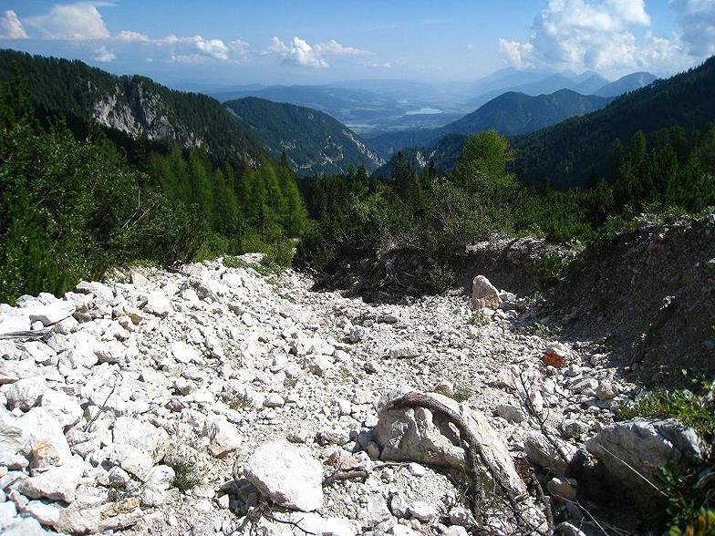 Foto: Martin Liga / Wander Tour / Über die Bertahütte auf den Mittagskogel / Aufstieg zum Mittagskogel. / 31.08.2008 11:55:49