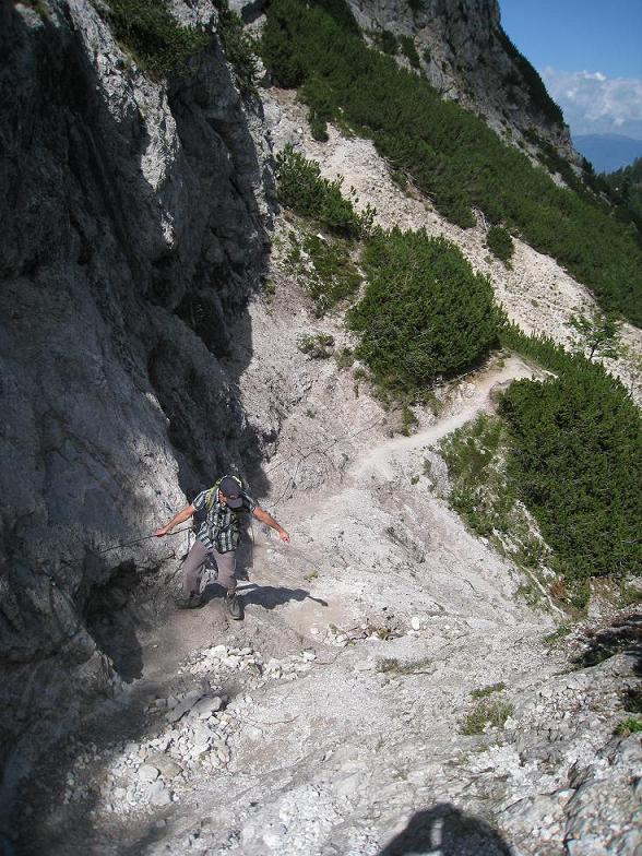 Foto: Martin Liga / Wander Tour / Über die Bertahütte auf den Mittagskogel / Aufstieg zum Mittagskogel. / 31.08.2008 11:55:58