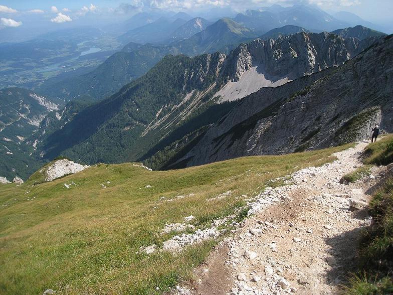 Foto: Martin Liga / Wander Tour / Über die Bertahütte auf den Mittagskogel / Aufstieg zum Mittagskogel nahe dem Gipfel. / 31.08.2008 11:57:20