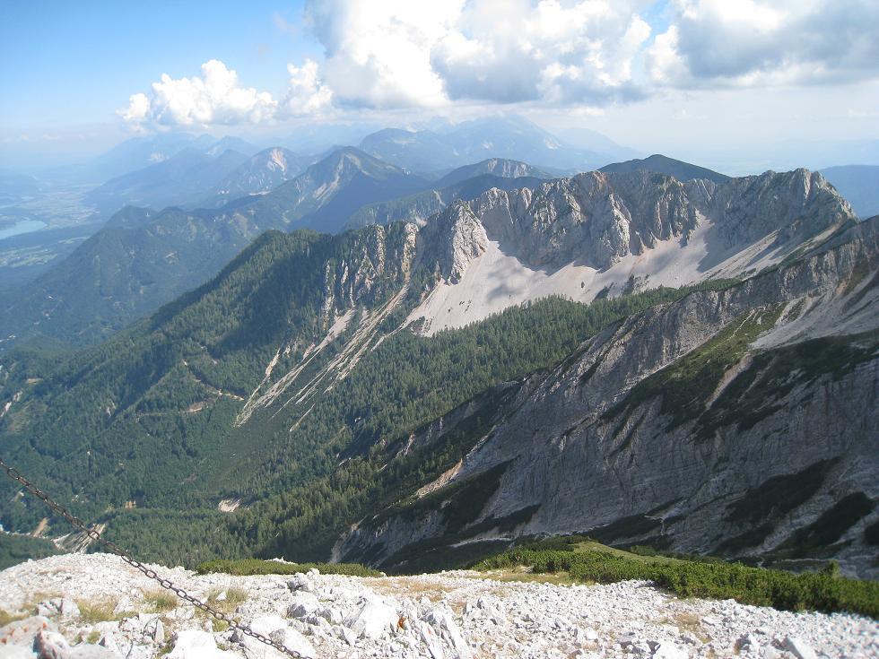Foto: Martin Liga / Wander Tour / Über die Bertahütte auf den Mittagskogel / Am Mittagskogel. / 31.08.2008 12:00:11