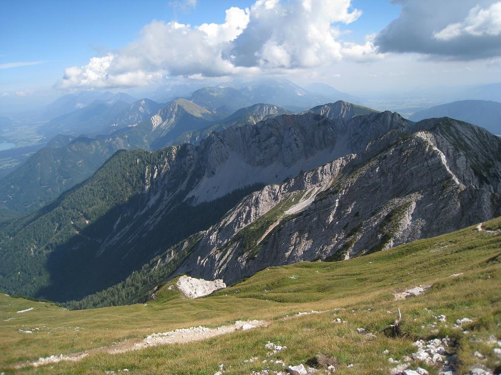 Foto: Martin Liga / Wander Tour / Über die Bertahütte auf den Mittagskogel / Am Mittagskogel. / 31.08.2008 12:00:18