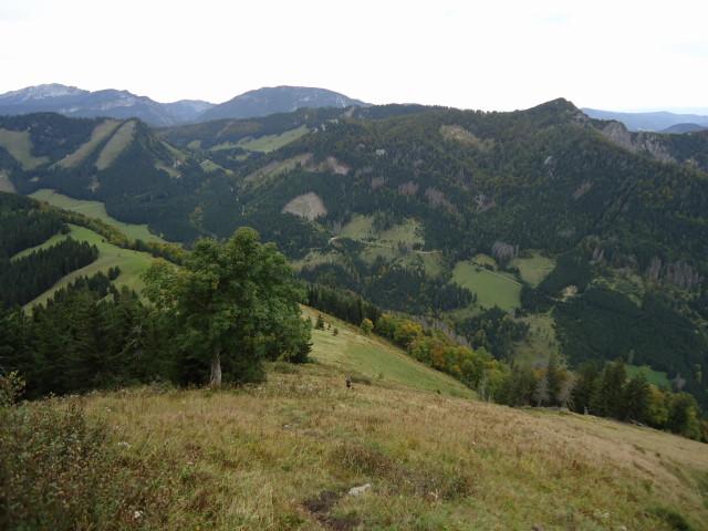 Foto: Günter Siegl / Wandertour / Vom Hengstpass auf den Wasserklotz / Wasserklotz vom Schwarzkogel aus gesehen - die beiden lassen sich gut kombinieren... / 27.09.2012 15:49:29