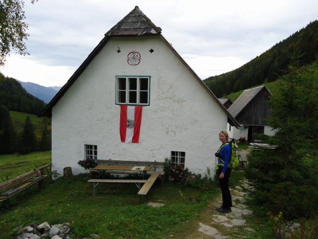 Foto: Günter Siegl / Wandertour / Vom Hengstpass auf den Wasserklotz / Hanslalm - eine der tollsten Almen dieses Planeten!!! / 27.09.2012 15:44:14