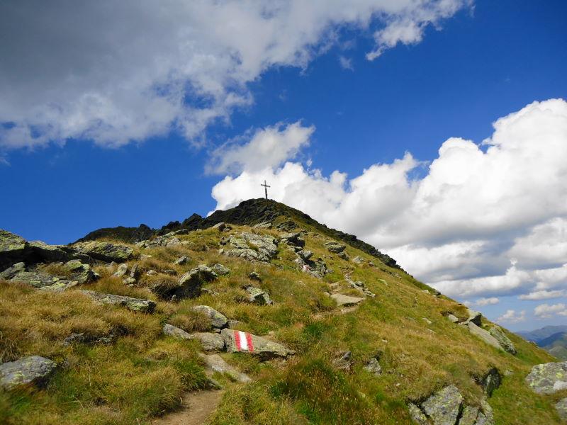 Foto: Günter Siegl / Wander Tour / Aus dem Eselsberggraben auf Schoberspitze und Talkenschrein (2423 m) / Schoberspitze  / 04.09.2013 21:29:28