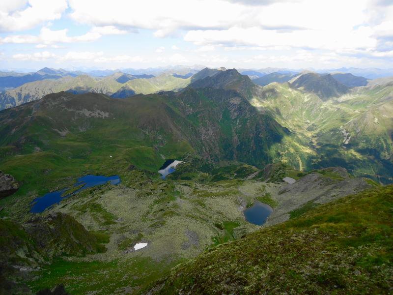 Foto: Günter Siegl / Wander Tour / Aus dem Eselsberggraben auf Schoberspitze und Talkenschrein (2423 m) / Gipfelblick / 04.09.2013 21:29:56