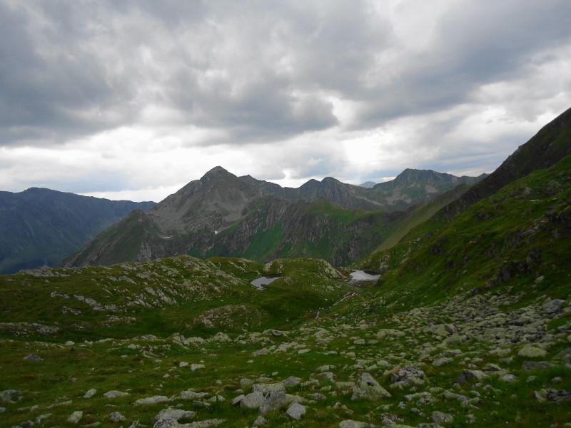 Foto: Günter Siegl / Wander Tour / Aus dem Eselsberggraben auf Schoberspitze und Talkenschrein (2423 m) / Idlereckscharte / 04.09.2013 21:30:59