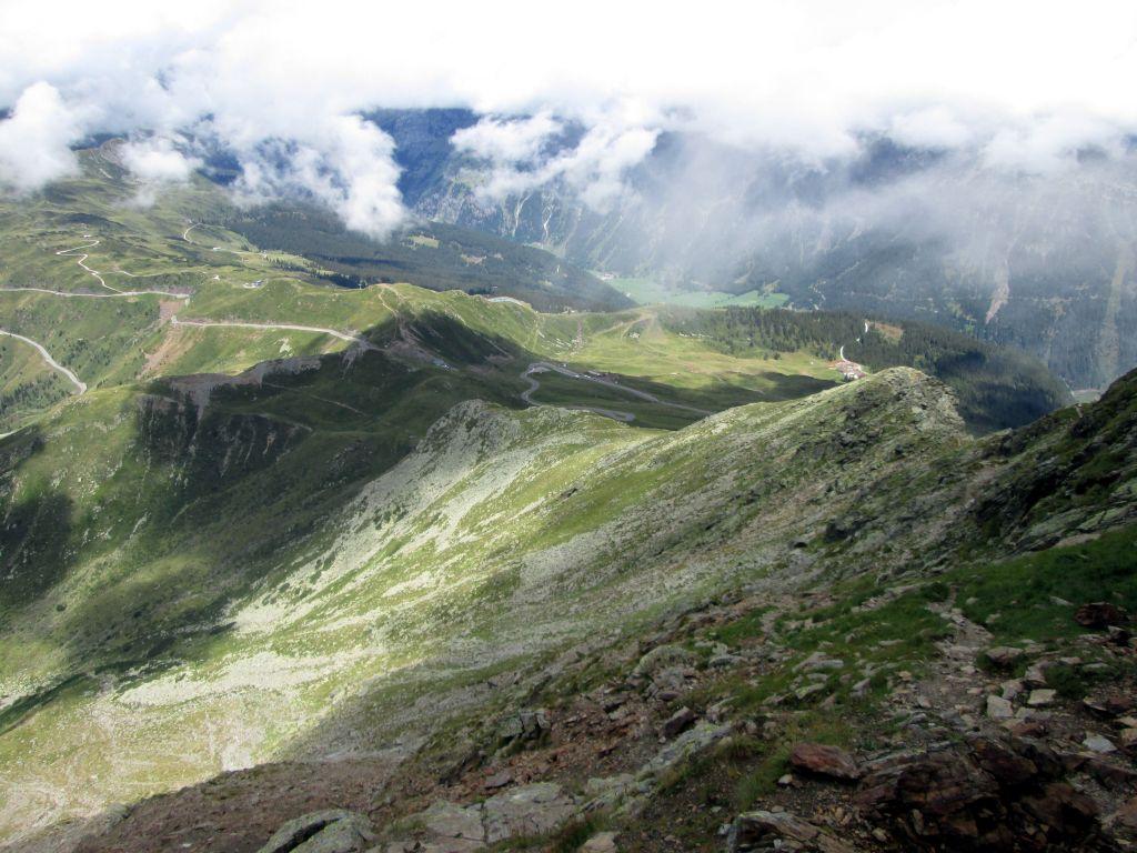 Foto: Ingo Gräber / Wander Tour / Jaufenspitze / Abstieg zum Jaufenpass / 13.11.2015 14:02:25