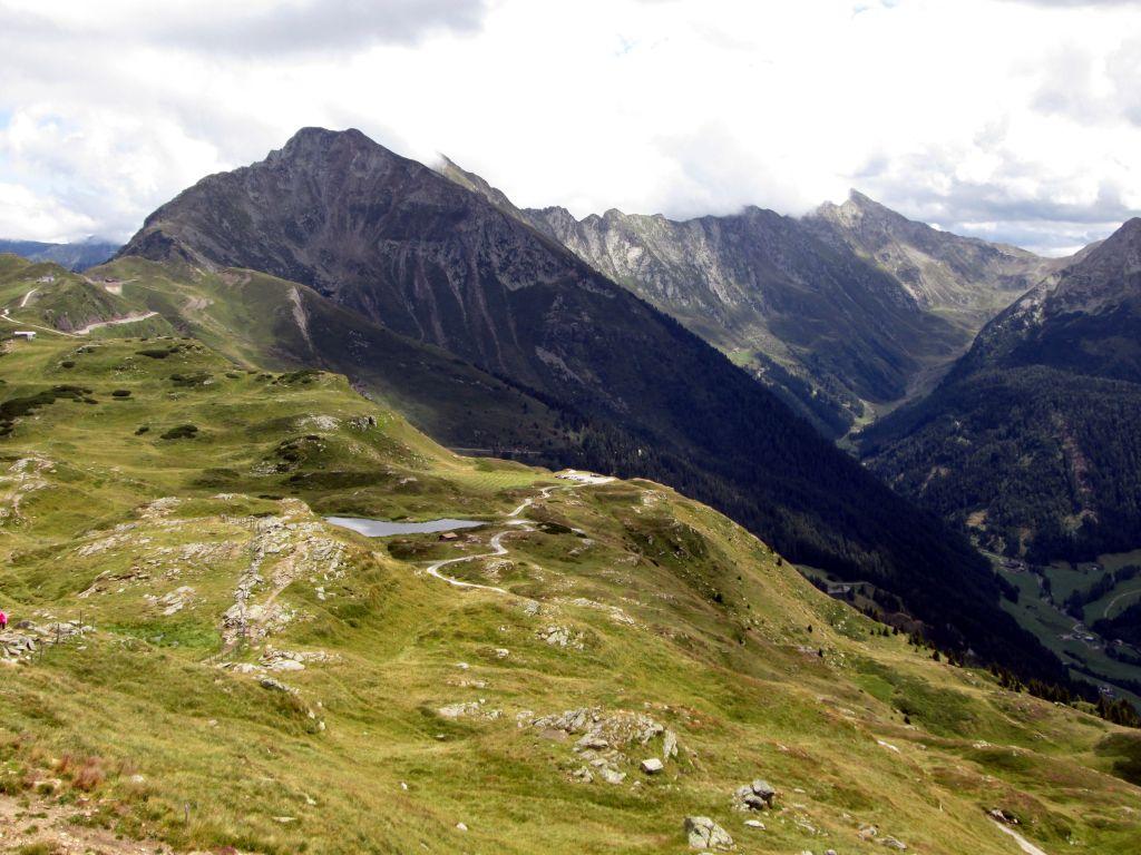 Foto: Ingo Gräber / Wander Tour / Jaufenspitze / Jaufenspitze von Westen (Nähe Flecknerhütte) / 13.11.2015 14:01:45