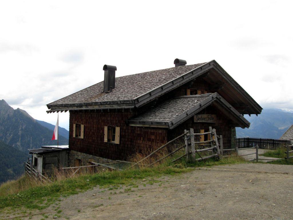 Foto: Ingo Gräber / Wander Tour / Vom Jaufenpass  auf Saxner und Fleckner  / Fleckner-Hütte / 13.11.2015 17:34:54