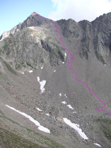Foto: Wolfgang Lauschensky / Wander Tour / Auf den Lasörling / Gipfelanstiegsweg / 24.07.2011 17:41:30