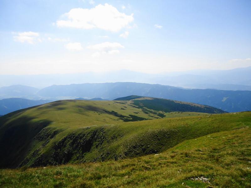 Foto: Günter Siegl / Wander Tour / Großer Ringkogel und Pletzen (2345 m) / Rückblick Aufstiegsweg / 27.08.2015 07:56:08