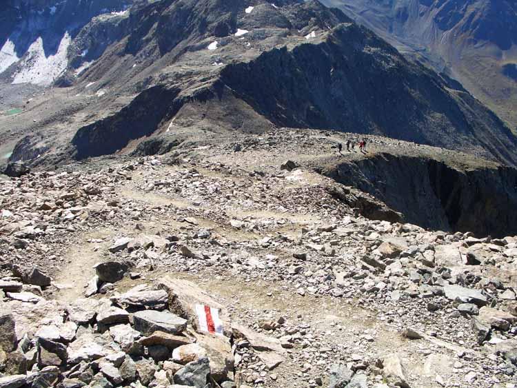 Foto: vince 51 / Wander Tour / Flüela Schwarzhorn / Auf-/ Abstiegsweg auf dem Südrücken / 22.06.2011 20:44:00