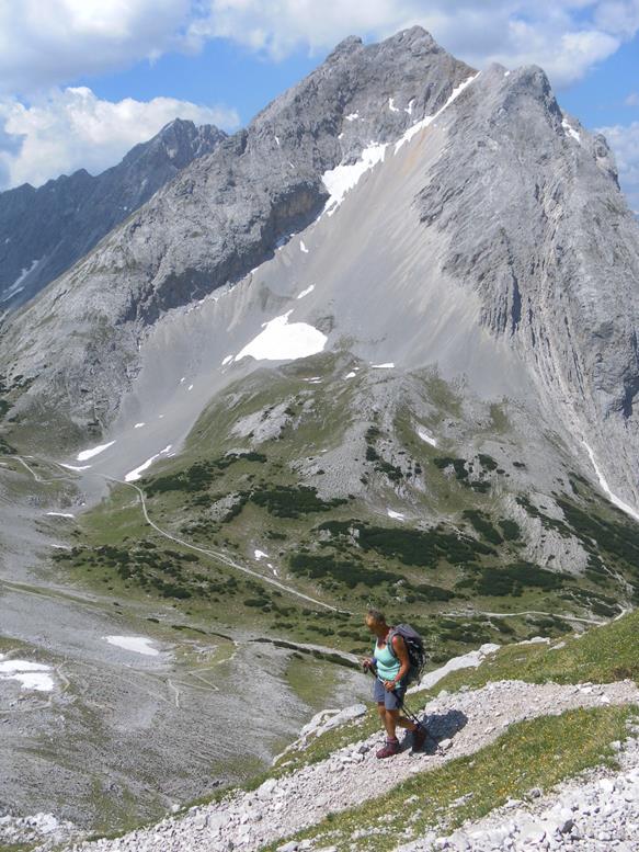 Foto: Wolfgang Lauschensky / Wander Tour / Aus dem Halltal auf die Speckkarspitze / Kleiner Lafatscher / 02.07.2017 13:55:35