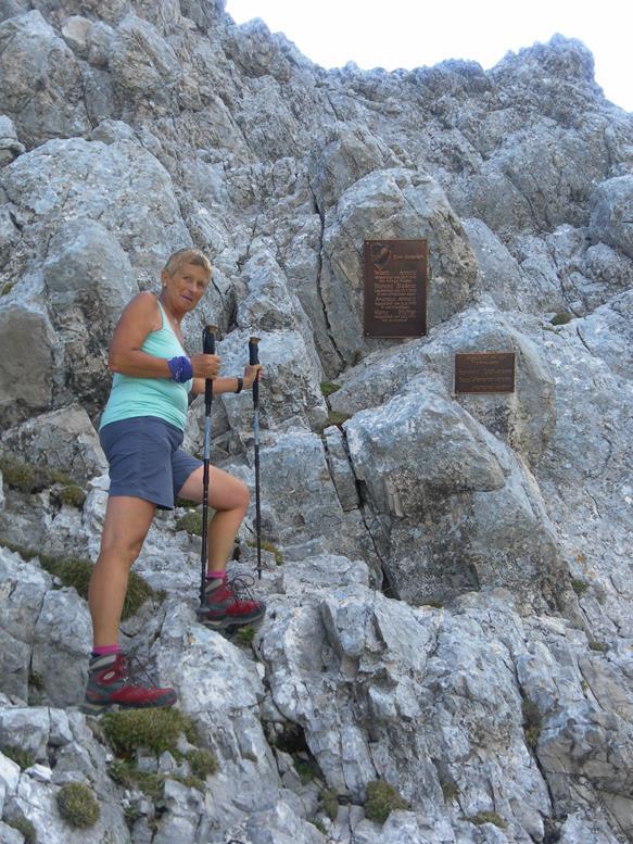 Foto: Wolfgang Lauschensky / Wander Tour / Aus dem Halltal auf die Speckkarspitze / Einstieg / 02.07.2017 13:56:35