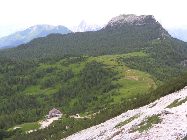 Foto: Wolfgang Lauschensky / Wander Tour / Monte Pelmo / Rifugio Venezia / 01.07.2011 20:59:07
