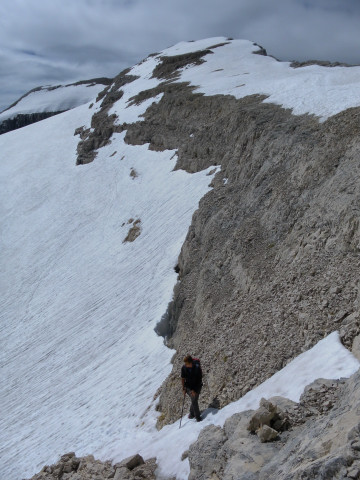 Foto: Wolfgang Lauschensky / Wander Tour / Monte Pelmo / Anstieg zum Südgrat / 01.07.2011 20:56:47