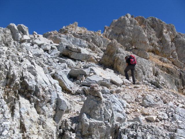Foto: Wolfgang Lauschensky / Wander Tour / Monte Pelmo / Südwestgrat / 01.07.2011 20:56:33