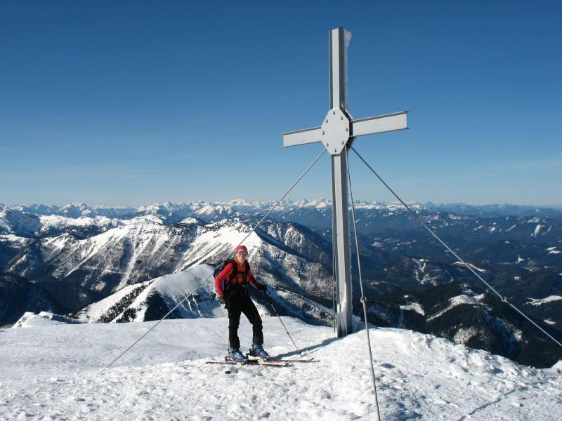 Foto: namaste / Ski Tour / Großer Ötscher, 1893m / 24.02.2008 21:29:43