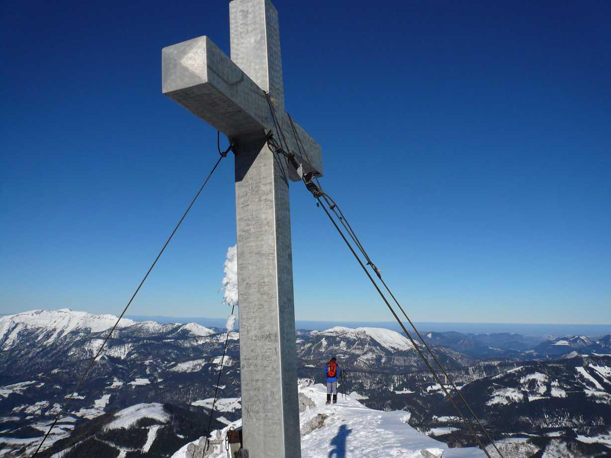 Foto: Chris1980 / Skitour / Kleiner Phyrgas, 2023m - Eiskar / 11.01.2009 13:58:39