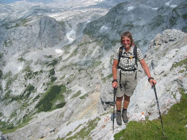 Foto: elipes / Ski Tour / Eiskogel, 2321m - über die Tauernscharte / Am Eiskogel / 02.08.2009 21:15:54