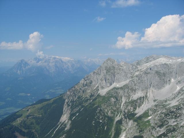Foto: elipes / Ski Tour / Eiskogel, 2321m - über die Tauernscharte / Blick vom Eiskogel zum Hochkönig / 02.08.2009 21:13:52