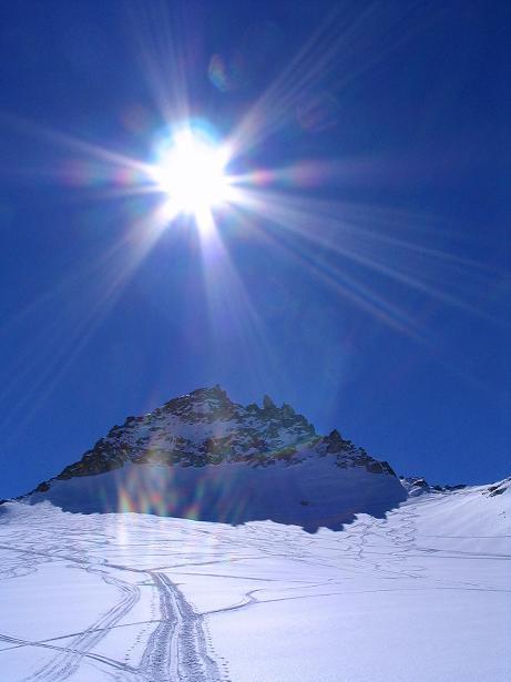Foto: Andreas Koller / Ski Tour / Granatspitze, 3086m  - von der Rudolfshütte über das Sonnblickkees / 24.12.2008 13:17:03
