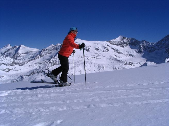 Foto: Andreas Koller / Ski Tour / Granatspitze, 3086m  - von der Rudolfshütte über das Sonnblickkees / 24.12.2008 13:16:23