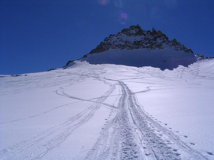 Foto: Andreas Koller / Ski Tour / Granatspitze, 3086m  - von der Rudolfshütte über das Sonnblickkees / 24.12.2008 13:16:11