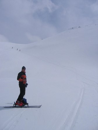 Foto: Andreas Koller / Ski Tour / Kleiner Pleißlingkeil, 2417m - über die Südwiener Hütte / 27.01.2009 22:13:00